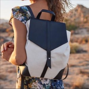 Deux Lux Demi Backpack with Dustbag NWT
